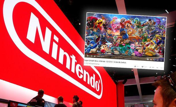 Virallista Super Smash Bros Ultimaten traileria on katsottu jo yli 1,5 miljoonaa kertaa.