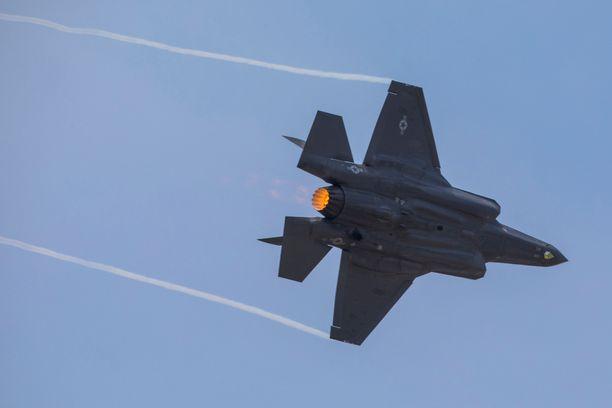 Myös Lockheed Martinin F-35-hävittäjä on mukana Suomen HX-hävittäjähankintakisassa.