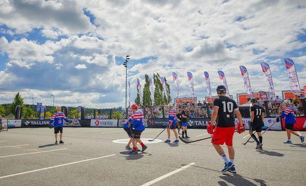 Lempäälän katulätkätapahtuma oli osa isompaa StHockey Tour -kiertuetta.