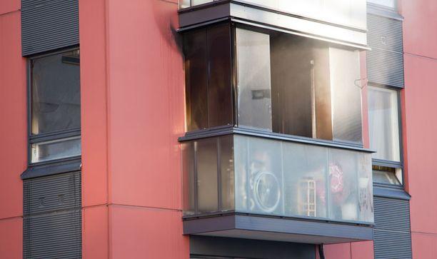 Asunto kärsi mittavia savuvahinkoja.