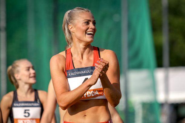 Lotta Harala sijoittui toiseksi Tukholmassa.