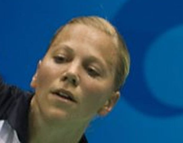 Anu Nieminen selvinnee yhden turnauksen levolla.