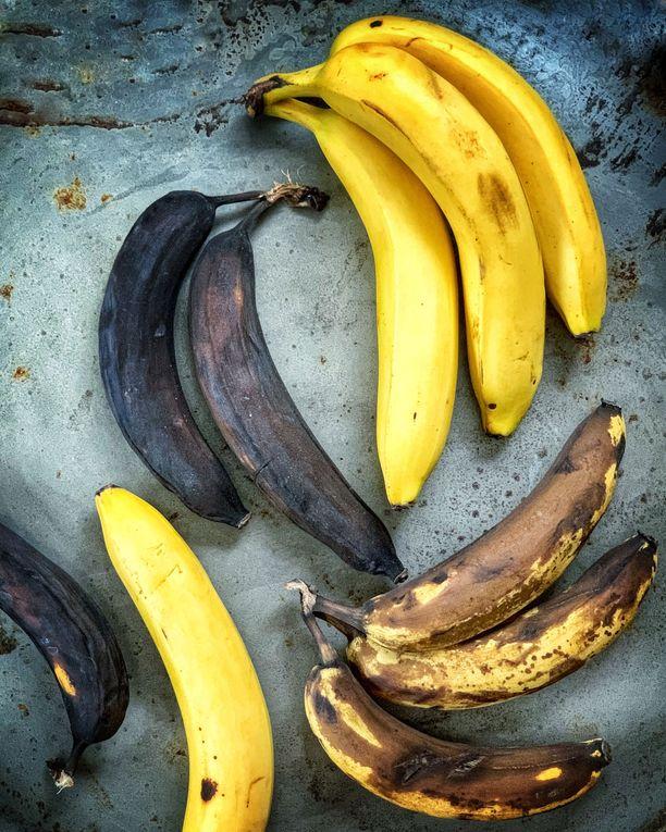 Kypsät banaanit ovat loistava raaka-aine leivonnassa ja smoothien joukossa.