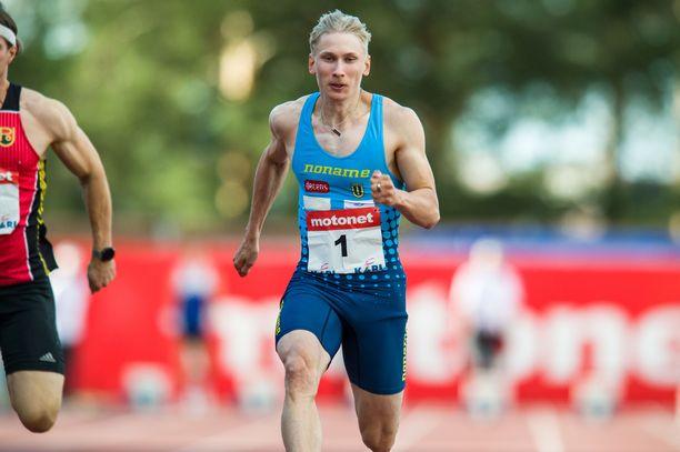 Samuli Samuelsson on selättänyt vammat ja tullut entistä nopeampana takaisin kilparadoille.