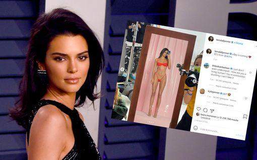 """Kendall Jenner vastaa kuvakohuun: """"Kaikki ei ole miltä näyttää"""""""