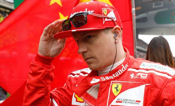 Ferrarin johtoporras ei ollut tyytyväinen Kimi Räikkösen panokseen Kiinan GP:ssä.