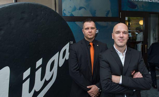 KooKoon valmentaja Petri Mattila (oik.) on valinnut joukkueen liiga-avaukseen.