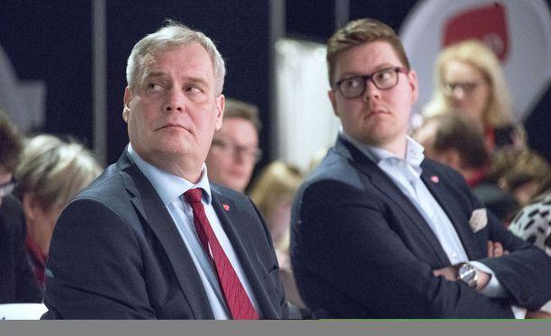 Antti Rinteen ja Antti Lindtmanin mielestä uusi puheenjohtaja vetää perusssuomalaisia täysin erilaiseen suuntaan kuin mihin on totuttu.