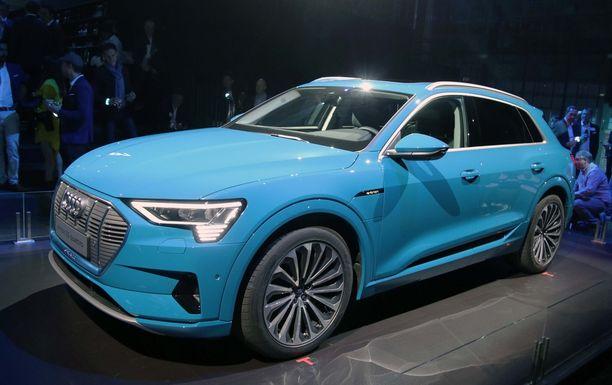 Se on siinä. Uusi Audi e-Tron.