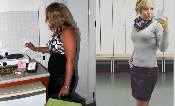 Ennen ja jälkeen.
