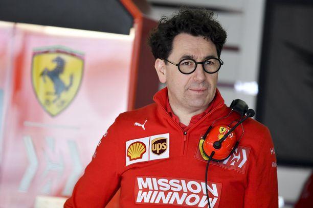 Ferrari-tallipäällikkö Mattia Binotto oli tyytyväinen Charles Leclercin asenteeseen Kiinan pettymyksestä huolimatta.