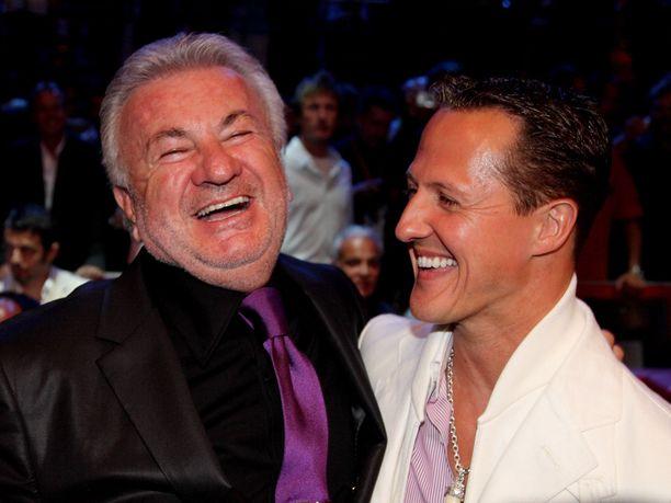 Willi Weberin (vas.) mukaan Michael Schumacher oli hänen paras kaverinsa.