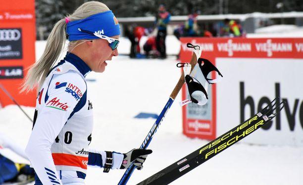 Anne Kyllönen vakuuttaa sairastaneensa joulukuussa virustaudin, vaikka jotkut sitä epäilevätkin.