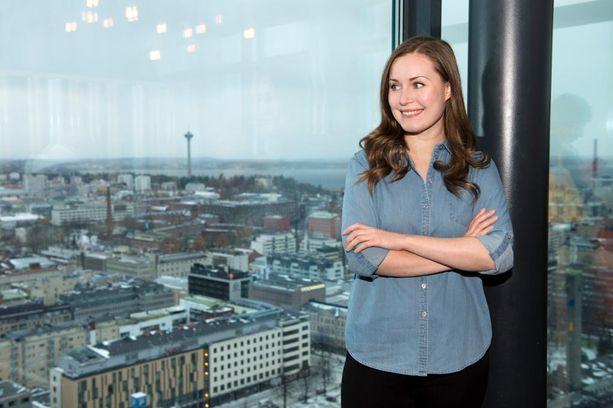 SDP:n varapuheenjohtaja Sanna Marin kertoo olevansa onnellinen asuessaan Tampereella, ja ensi vuonna hän aikoo mennä naimisiin.