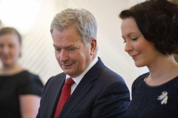 Tasavallan presidentti Sauli Niinistö osallistui veteraanipäivän pääjuhlaan Kuopiossa.