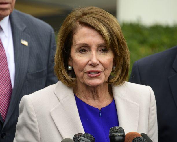 Demokraattien johtohahmo Nancy Pelosi on 78-vuotias.