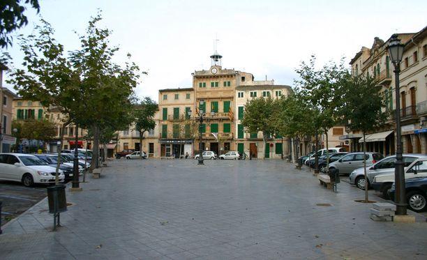 Onnettomuus tapahtui Mallorcan Llucmajorissa.