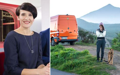 Ex-uutisankkuri Aino Huilajan elämä pakettiautossa sai yllättävän käänteen – kiiruhtaa nyt Suomeen pikavauhtia