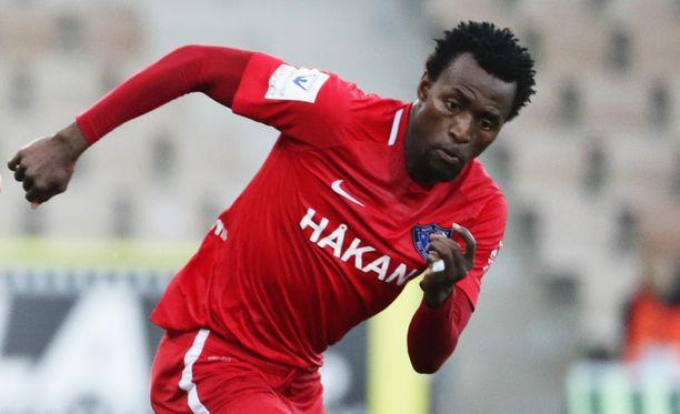 Abdoulie Mansallyn suoritukset syyskuun alun HJK-ottelussa keräsivät huomiota.