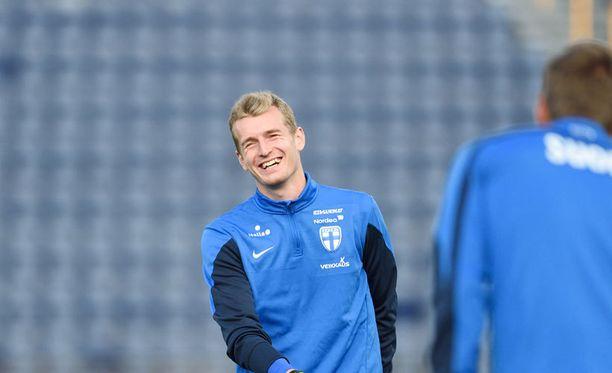 Lukas Hradecky haluaa revanssin Ruotsista.
