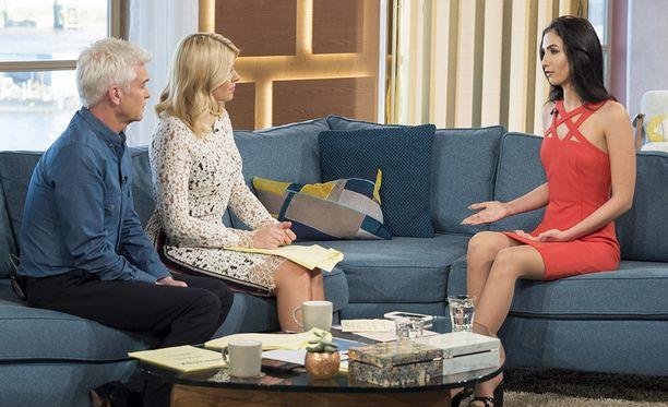 Kefren oli Britannian aamutelevision haastattelussa, jossa hän kertoi tulevasta huutokaupasta.