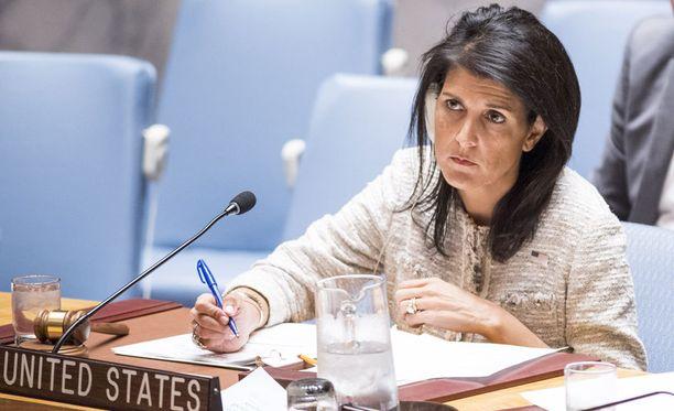 Haley ja Yhdysvaltain ulkoministeri Tillerson ovat hieman eri linjoilla Yhdysvaltain Syyrian-toimien arvottamisessa.
