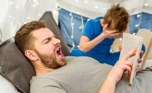 Aikuisen raivo on lapselle pelottavaa.