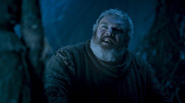 Hodor puolusti Brania ja Meeraa loppuun asti. Hodoria näytteli Kristian Nairn.