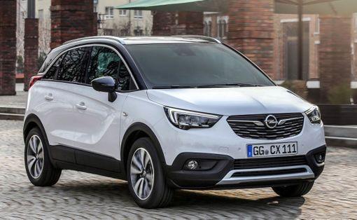 Opel Crossland X on jo Suomessa. Hinnat noin 19 500 alkaen.
