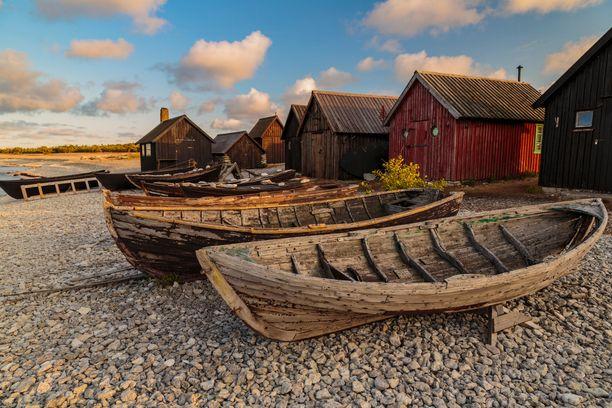 Merellinen Gotlanti on suosittu kesälomakohde.