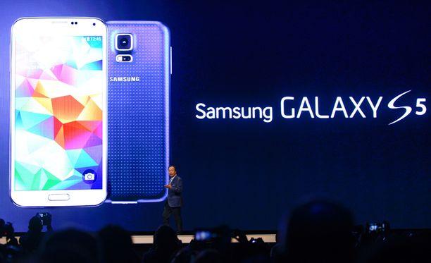 Samsungin Galaxy S5 julkistettiin maanantaina Espanjan Barcelonassa.