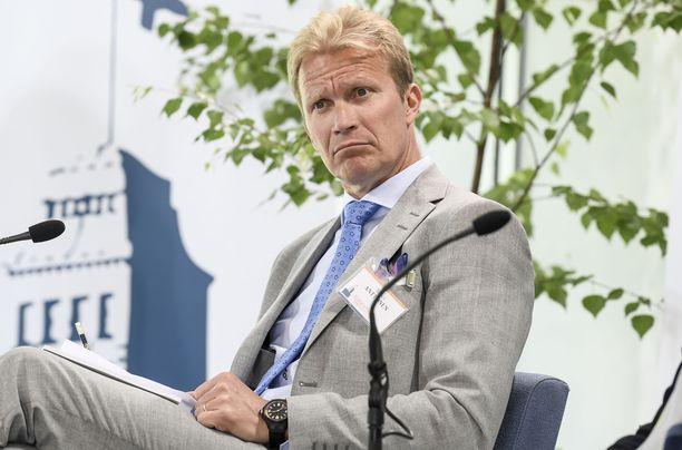 Mika Anttosesta ei tule Olympiakomitean puheenjohtajaa.