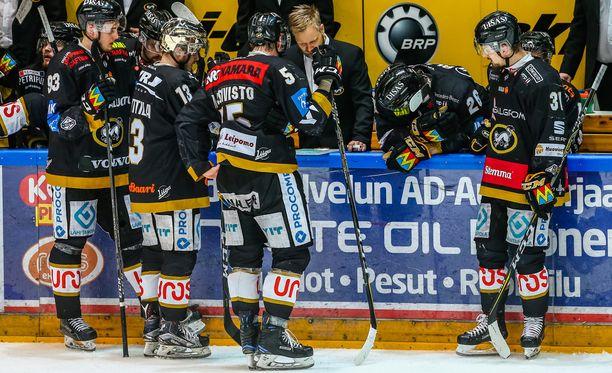 Mikko Mannerin luotsaama Kärpät hukkasi tiistaina jo toisen mahdollisuutensa mestaruuteen.