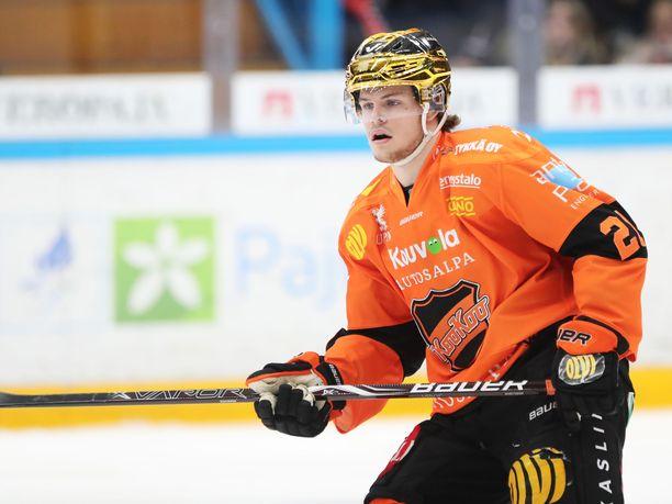 Malte Strömwallin tykkikaudesta huolimatta KooKoo ei päässyt pudotuspeleihin.