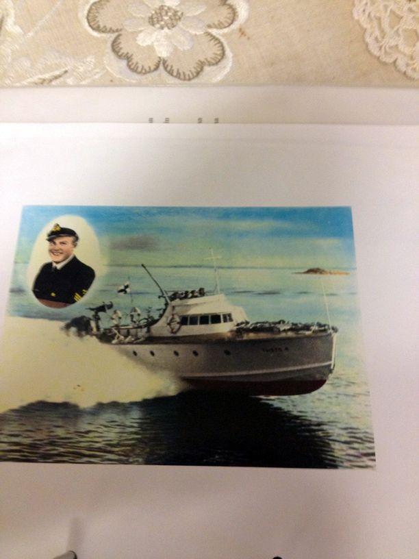 Tältä Taisto-luokan moottoritorpedovene näytti.