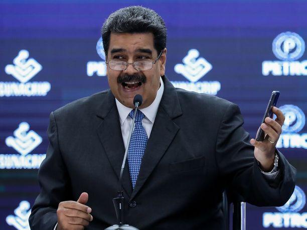 Nicolas Maduro on hallinnut Venezuelaa vuodesta 2013 lähtien.