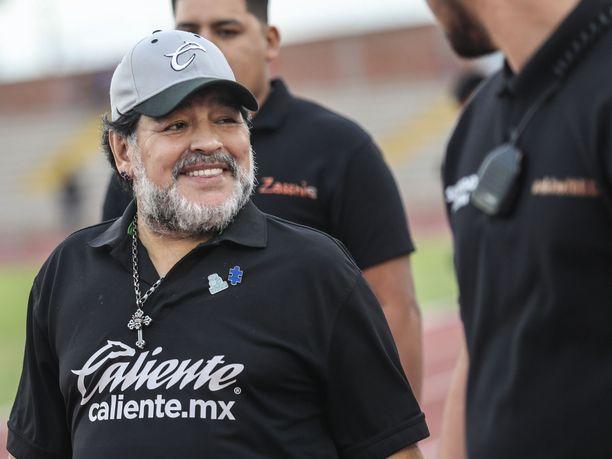 Diego Maradona valmensi meksikolaista Dorados de Sinaloaa vuoden 2019 kesäkuuhun saakka.