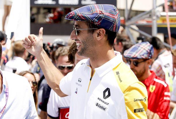 Daniel Ricciardon hymy ei hyydy tuomariston tutkinnan kohteenakaan.