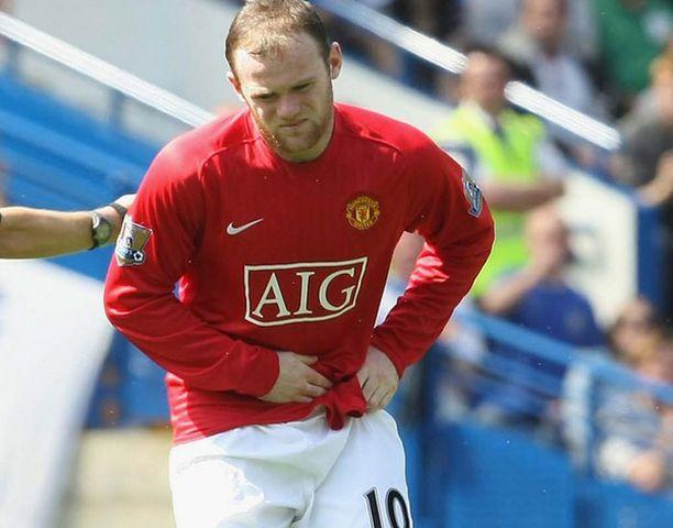 Wayne Rooney lähti tuskaisena pois viime viikonlopun Chelsea-ManU-ottelusta
