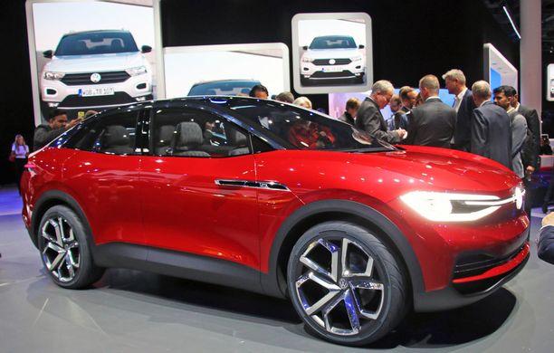 Volkswagen I.D Crozz II on tavallisen ihmisen katumaasturi. Tuotantoon vuonna 2020