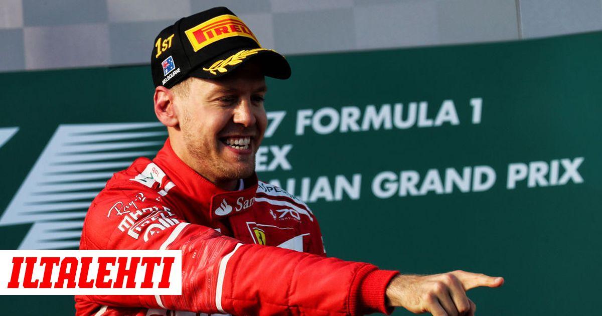 Sebastian Vettel Suomi