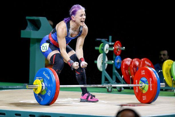 Anni Vuohijoki edusti Suomea Rion olympialaisissa.