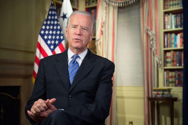 Joe Biden toimi Yhdysvaltojen varapresidenttinä Barack Obaman kaudella. Kuva otettu 2015.