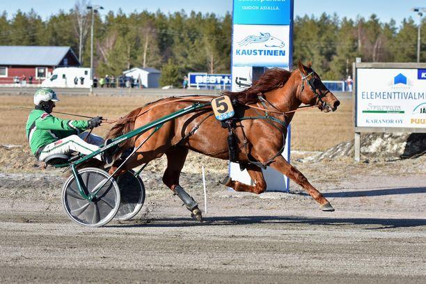 Lissun Eerikki jatkoi lauantaina voittokulkuaan perinteisessä Pelimanni-Ajossa. Oriin luottokuski on Ari Moilanen, joka on ohjastanut Pekka Luukkosen valmennettavia vuosikymmenten ajan.