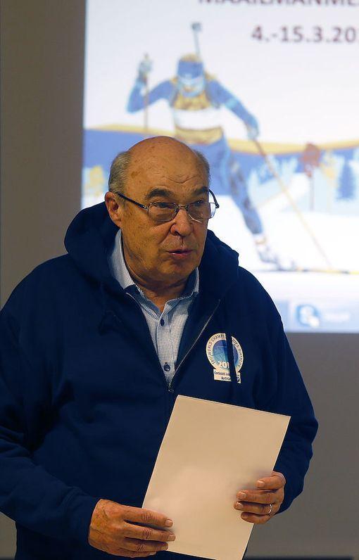 MM-kisojen johtajana toimi Esa Haapala.