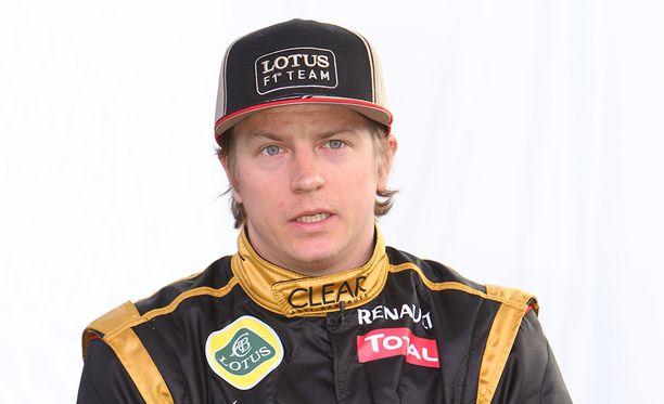 Kimi Räikkönen ajoi vuonna 2012 Lotuksella.
