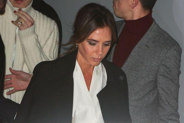 Victoria Beckham käytteli komentoja copy ja paste.