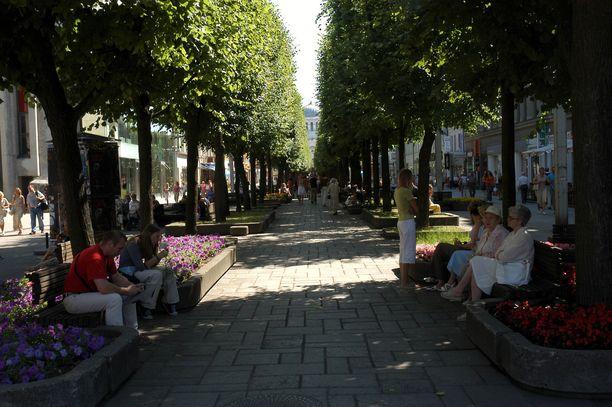1,6 kilometrin mittainen Laisvės Alėja on Euroopan pisimpiä kävelykatuja.