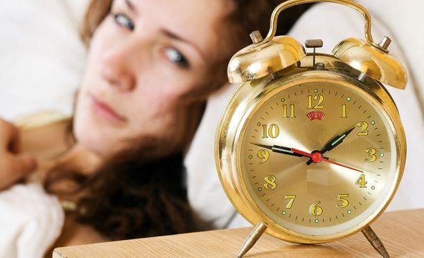 Unettomuudella on paljon haittoja.