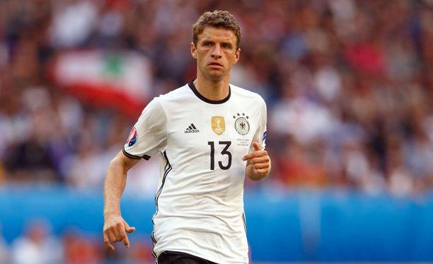 Thomas Müller arvostaa italialaista jalkapalloa.